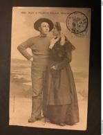 Marin Et Femme De PALAIS - BELLE ILE EN MER - Belle Ile En Mer