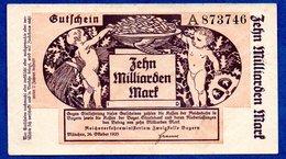 Bayern -  10 Milliarden Mark   - état  TB - [11] Lokale Uitgaven