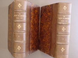 """2 TOMES """"LE BON JARDINIER """" 133° édition -Almanach Horticole POUR L'ANNÉE 1889 - Livres, BD, Revues"""