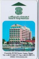 HOTEL KEYS - 2107 - EGYPT - SONESTA ST. GEORGE HOTEL LUXOR - Cartas De Hotels