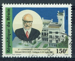 Benin, 150f., Edward Bouchet Conference, 2001, VFU - Benin - Dahomey (1960-...)