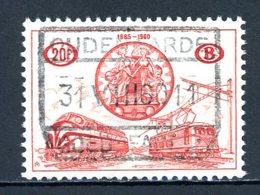 BE    TR  371    Obl      ---      Parfait état  --  Belle Oblitération Centrale Oudenaarde - 1952-....