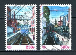 BE    TR  459 - 460    Obl      ---      Bel état - Spoorwegen
