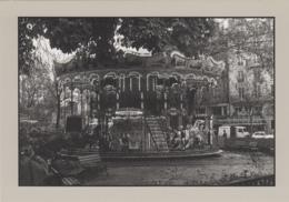 Métiers - Paris - Fêtes Foraine - Manège Chevaux De Bois - Jardin De La Tour Saint-Jacques - 1985 - Mestieri