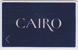 HOTEL KEYS - 2109 - EGYPT - GARDEN CITY CAIRO - KEMPINSKI NILE HOTEL - Cartas De Hotels