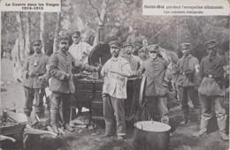 Militaria - Armée Allemande - Cuisine Roulante - Ravitaillement - 1916 - Régiments