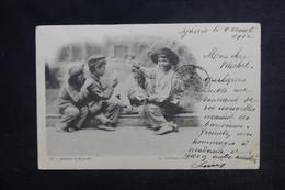 FRANCE - Carte Postale - Ajaccio - Gamins D'Ajaccio Jouant Aux Cartes - L 48393 - Ajaccio