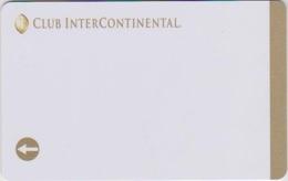 HOTEL KEYS - 2111 - EGYPT - CLUB INTERCONTINENTAL - Chiavi Elettroniche Di Alberghi
