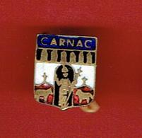 INSIGNE EMAIL VILLE DE CARNAC MORBIHAN SAINT CORNELY MENHIR - Recordatorios