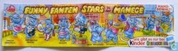 F.F. Stars In Der Manege 1998 / Zacharias Zitterfrei + BPZ - Aufstellfiguren