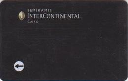 HOTEL KEYS - 2116 - EGYPT - SEMIRAMIS INTERCONTINENTAL CAIRO - PYRAMID - Chiavi Elettroniche Di Alberghi