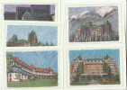 CANADA - SET Of 5 POSTCARDS Historic HOTELS  Produced By Canada Post,  Hotel Postcard - Hotels & Restaurants