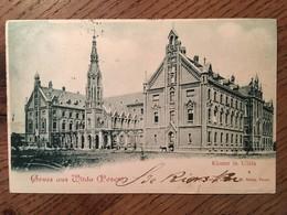 CPA, POLOGNE / ALLEMAGNE, Gruss Aus Wilda (Posen-Poznań), Kloster In Wilda, éd C.F.W . Nölte,écrite En 1900, Timbre - Polen