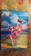 Mongolia.  Boy And Girl. Folk Dance   - Old Postcard 1960s 3D Stereo - Morin Khuur Horsehead Fiddle - Stereoscopische Kaarten