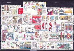 Tchécoslovaquie - Lot Avec Les Timbres Neufs Sans Charniere, (MNH)** - Czechoslovakia
