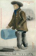 ATTIGNY. 1830. Un Oiseleur Ardennais (dessin De Bruge-Lemaitre) - Attigny