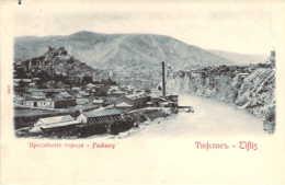 GEORGIE Faubourg à TIFLIS Sur La Koura Tbilissi Carte Précurseur - Georgia