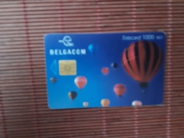 Phonecard Airballon 1000 BEF Used  OI 31.07.2003 Low Issue - Belgique