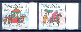 C56- Vietnam 1996 New Year Of The Rat. Chinese Lunar Zodiac Rat. - Vietnam