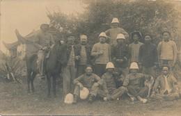 I188 - INDOCHINE - Carte Photo - Groupe De Marins Français En Tenue Coloniale - Viêt-Nam