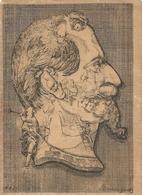 GRAVURE CARICATURE.NAPOLEON 3. ARCHIBOLDESQUE - Documents Historiques