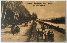 V 12025 Firenze - Passeggiata Delle Cascine - Viale Della Regina - Firenze
