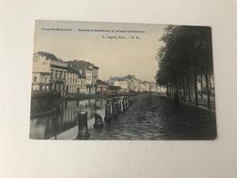 Molenbeek  Bruxelles   Boulevard Barthélemy Et Le Canal De Charleroi  Edit Lagaert N° 24 - Molenbeek-St-Jean - St-Jans-Molenbeek