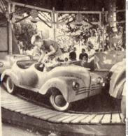 """Autos Voitures Automobiles Cars - Pochette Photos GEVAERT Film - Manège Forain Enfant - RENAULT 4CV """" Cabriolet """" - Passenger Cars"""