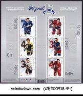 CANADA - 2014 NHL TEAMS - ORIGINAL SIX / SPORTS MIN/SHT MNH PRESENTATION PACK - 1952-.... Regno Di Elizabeth II