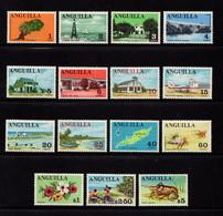 ANGUILLA    1967    Various  Designs     Set  Of  15      MNH - Anguilla (1968-...)