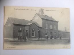 Borgloon - Looz-la-Villa  Spoorweg - Station Du Chemin De Fer  GARE STATIE - Borgloon