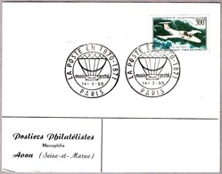 LA POSTE EN 1870-1871 - El Correo En 19870/71. Paris 1959 - Correo Postal