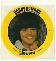 "**Oude JOEPIE- Muziekblad Sticker     ** = """" DONNY  OSMOND """" - Autres"