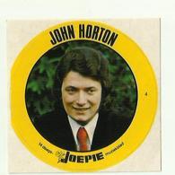 "**Oude JOEPIE- Muziekblad Sticker     ** = """" JOHN HORTON """" - Autres"