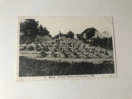 Kanne  Riemst  Kerkhof  Gesneuvelde Grenadiers 1940  TWEEDE WERELDOORLOG MILITAIRE - Riemst