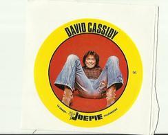 """**Oude JOEPIE- Muziekblad Sticker     ** = """""""" DAVID  CASSIDY"""""""" - Autres"""