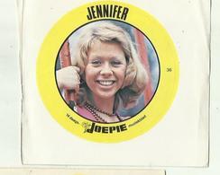 "**Oude JOEPIE- Muziekblad Sticker     ** = """" JENNIFER"""" - Autres"