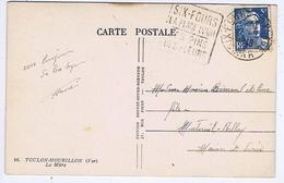 VAR - Flamme Daguin SIX-FOURS-PLAGE Du 17 -9  1948 - Marcophilie (Lettres)