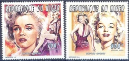 C99- NIGER 1996. FAMOUS PEOPLE FORM THE SHOW BUSINESS MOVIES CINEMA. - Niger (1960-...)