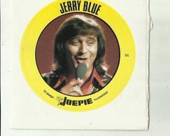"**Oude JOEPIE- Muziekblad Sticker     ** = """" JERRY  BLUE"""" - Autres"