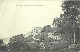 CPA DE MONT-SAXONNEX  (HAUTE SAVOIE) - Other Municipalities