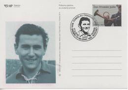 Croatia, Football, T. Crnkovic  Dinamo Zagreb, Wiener Sport-Club And Servette, Silver Medal At 1952 Olympic Games Helsin - Croatie