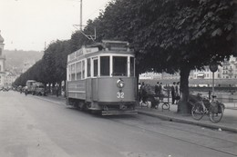 Tram Luzern 8 X 5,5 Cm. Photo, No Postcard. - LU Lucerne