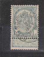 COB 53 Oblitération Centrale OSTENDE Station - 1893-1907 Coat Of Arms