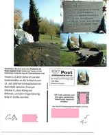 1535p: Privatganzsache AK Postkarten-App: A- 2292 Groißenbrunn Bei Engelhartstetten, Schlacht 1260 Im Marchfeld - Gänserndorf