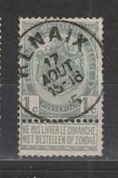 COB 53 Oblitération Centrale RENAIX - 1893-1907 Coat Of Arms