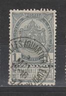 COB 53 Oblitération Centrale BRUXELLES Quartier Leopold - 1893-1907 Coat Of Arms