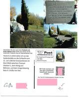 1535p: Privatganzsache AK Postkarten-App: A- 2292 Groißenbrunn Bei Engelhartstetten, Schlacht 1260 Im Marchfeld - History