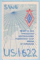 UKRAINE / QSL Card / Radio Amateur. Krenkel Radio Club. Mariupol. Donetsk Region 2001 - Radio Amatoriale