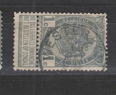 COB 53 Oblitération Centrale WESTERLOO - 1893-1907 Coat Of Arms